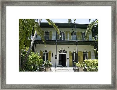 Hemingway's Hideaway Framed Print by Laurie Perry