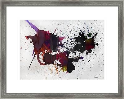 Hemisferio Framed Print by Laura Benavides Lara