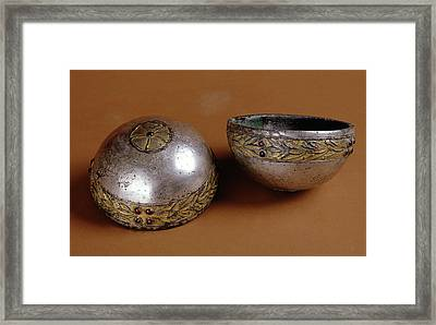 Hemispherical Cup Unknown Eastern Parthian Empire 1st Framed Print by Litz Collection