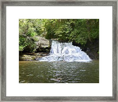 Hemlock Falls Framed Print