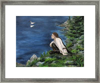 Hemlock Of Mimir Framed Print