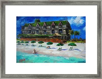 Henderson Inn Destin Florida Framed Print by Carole Foret