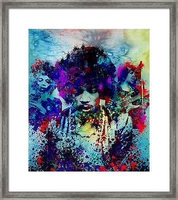 Hendrix 3 Framed Print