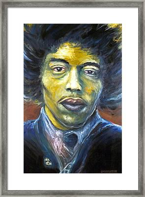 Hendrix Experienced Framed Print