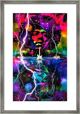 Hendrix Astro Man Framed Print
