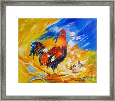Henhouse Host Framed Print