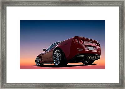 Hennessey Red Framed Print