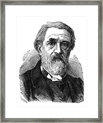Henri De Ruolz Framed Print by Science Photo Library
