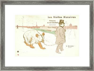 Henri De Toulouse-lautrec French, 1864 - 1901. Ancient Framed Print by Litz Collection