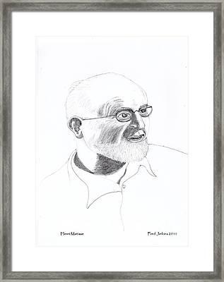 Henri Matisse Framed Print by Fred Jinkins
