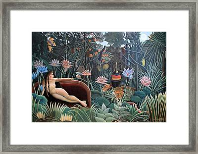 Henri Rousseau The Dream 1910 Framed Print