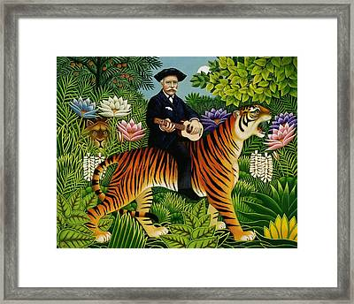 Henri Rousseaus Dream Framed Print by Frances Broomfield