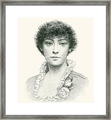 Henrietta Emma Ratcliffe Rae Framed Print by English School