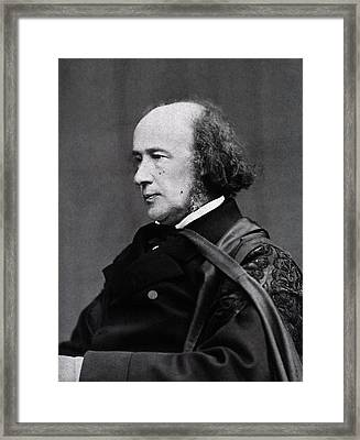 Henry Acland Framed Print by National Library Of Medicine
