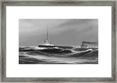 Henry B. Smith Framed Print by Captain Bud Robinson
