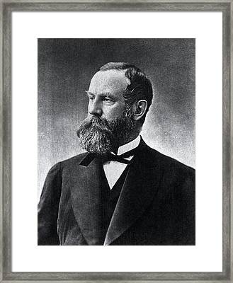 Henry Bigelow Framed Print by National Library Of Medicine