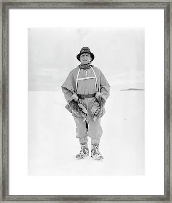 Henry Bowers Framed Print by Scott Polar Research Institute