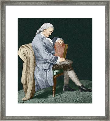 Henry Cavendish Framed Print by Sheila Terry