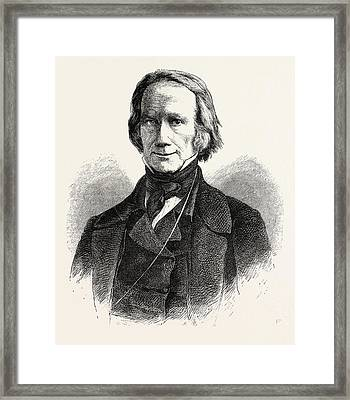 Henry Clay, 1777-1852, He Was A Lawyer, Politician Framed Print