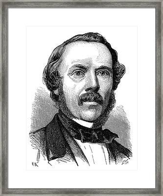 Henry Coxwell Framed Print