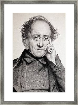 Henry De La Beche Framed Print by Paul D Stewart