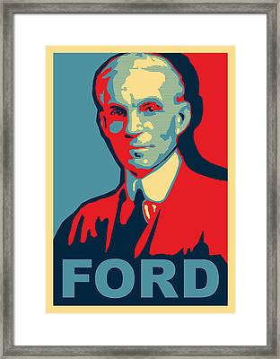 Henry Ford Framed Print