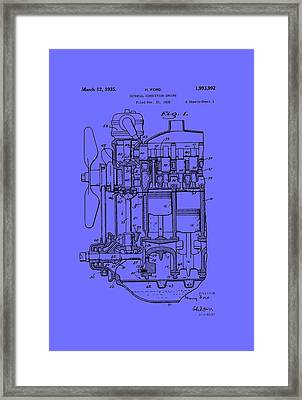Henry Ford's Internal Combustion Engine Framed Print by Mountain Dreams
