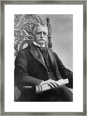 Henry H. Rogers Framed Print by The Miriam And Ira D. Wallach Division Of Art, Prints And Photographs: Print Collection/new York Public Library