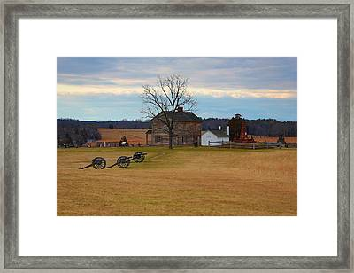 Henry House At Manassas Va Framed Print