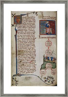 Henry I Framed Print