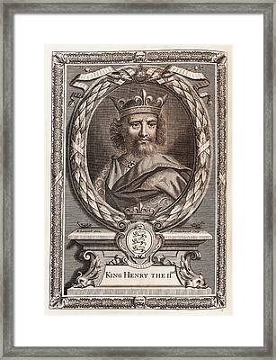 Henry II Framed Print by Middle Temple Library