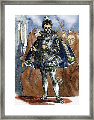 Henry IIi Of France (1551-1589 Framed Print by Prisma Archivo