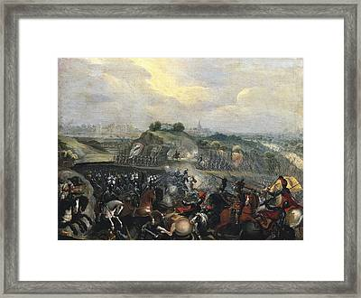 Henry Iv In The Battle Of Ivry, 14th Framed Print