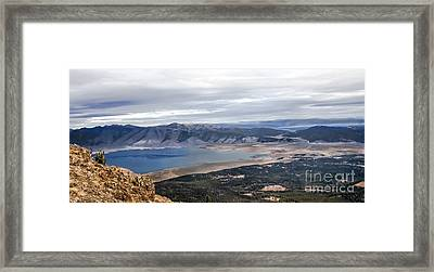 Henry Lake Framed Print by Robert Bales