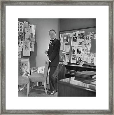 Henry Lee Munson In A Business Suit Framed Print