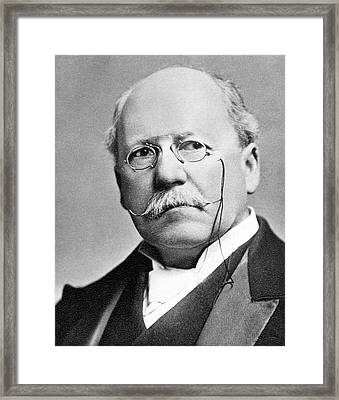 Henry Mance Framed Print by Science Photo Library