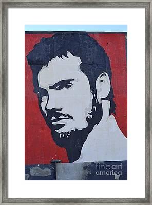 Henry Rollins Framed Print by Allen Beatty