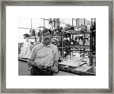 Henry Taube Framed Print by Us Department Of Energy