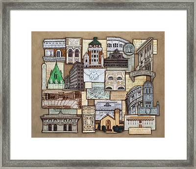 Henry Trost In El Paso Framed Print by Candy Mayer