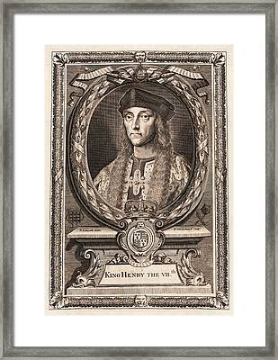 Henry Vii Framed Print by Middle Temple Library