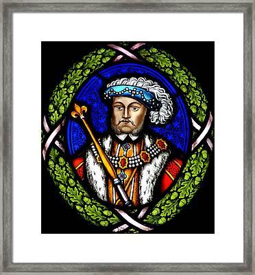 Henry Viii Framed Print by John Topman