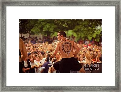 Henryrollins - Search N Destroy Framed Print by Timothy Bischoff