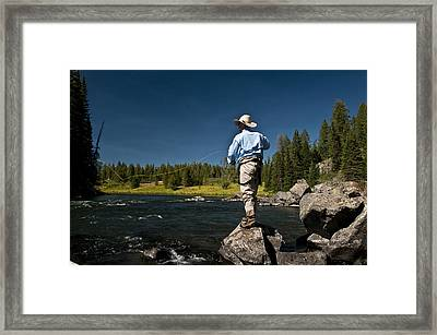 Henry's Fork Framed Print by Ron White