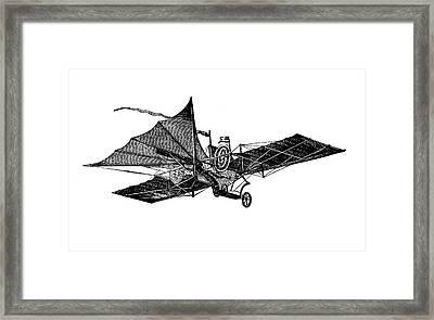 Henson's Aerial Steam Carriage Framed Print by Bildagentur-online/tschanz