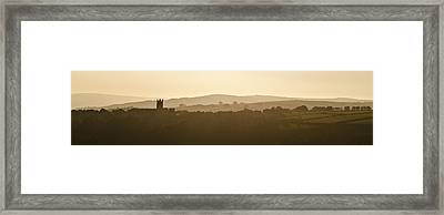 Framed Print featuring the photograph Heptonstall by David Isaacson