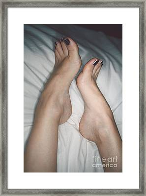 Her Curves Framed Print by Tos