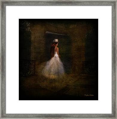 Her Day Framed Print by Kylie Sabra