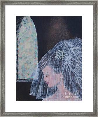 Her Day Framed Print by William Ohanlan