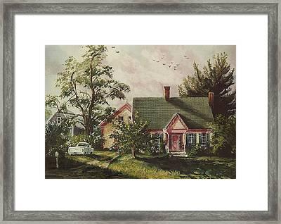 Her House Framed Print
