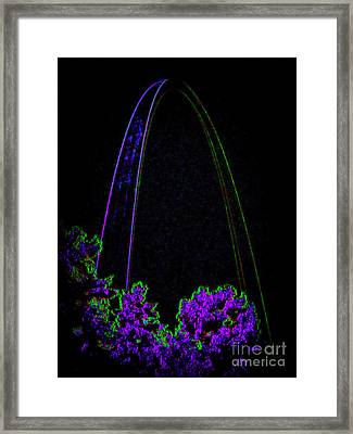 Her Majesty The Arch Framed Print